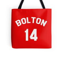 High School Musical: Bolton Jersey Tote Bag