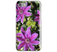 Clematis. iPhone Case/Skin