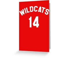 High School Musical: Wildcats Greeting Card