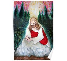 Study of Christ in Gethsemane Poster