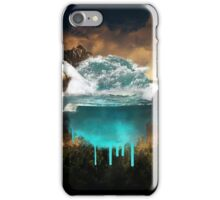 Elements collide. iPhone Case/Skin