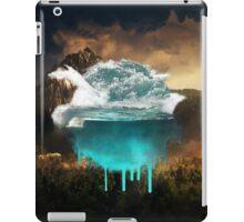 Elements collide. iPad Case/Skin
