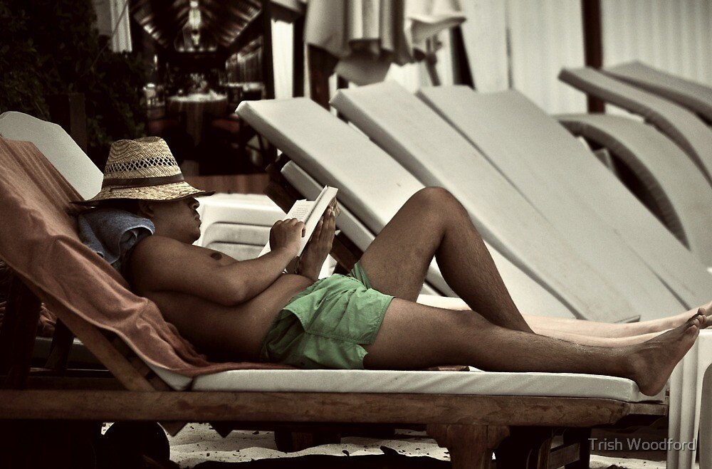The Reader II by Trish Woodford