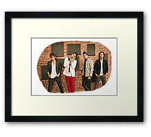 Marianas trench design #2 Framed Print