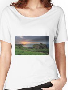 Dunnottar Castle at Sunrise Women's Relaxed Fit T-Shirt