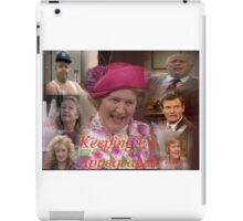 Keeping Up Appearances Montage iPad Case/Skin
