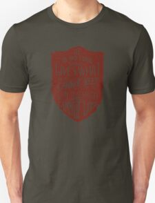 Conviction (red) T-Shirt