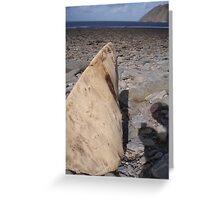 Lynmouth Beach Greeting Card