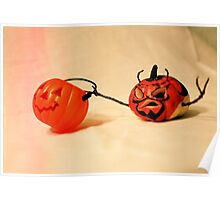 The pumpkin is a devil Poster