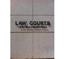Edmonton Law Courts Photographic Print