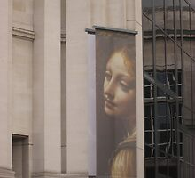Poster Outside National Gallery, London by MagsWilliamson