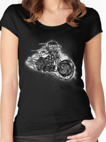 Bobber Rider Women's Fitted Scoop T-Shirt