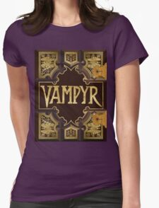 Vampyr Book Womens Fitted T-Shirt