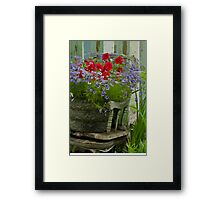 The Old And New - Digital Oil Framed Print