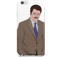 R. Swanson Drawing iPhone Case/Skin
