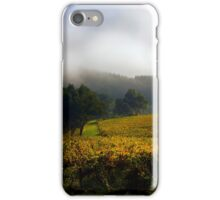 Vineyard Adelaide Hills in Autumn iPhone Case/Skin