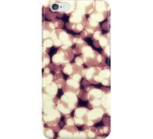 Gold Bokeh Pattern iPhone Case/Skin