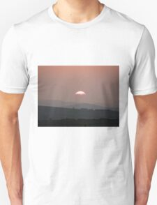 Setting Sun over Fahan, Donegal,Ireland.  T-Shirt