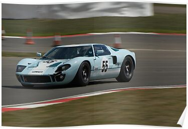 Ford GT40 (Buncombe) by Willie Jackson