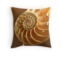 Spiral perfection Throw Pillow