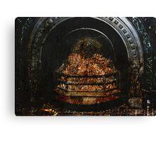 Antique Fireplace Canvas Print