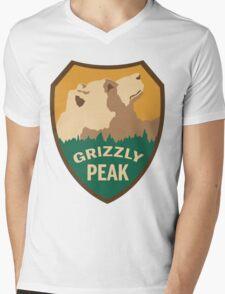 Grizzly Peak Mens V-Neck T-Shirt