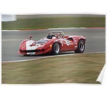 Lola T70 MK3 Spyder Poster