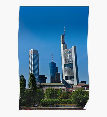 Frankfurt Skyline Poster
