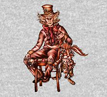 Mad Hatter with March Hare Drawing Unisex T-Shirt