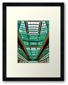 The Green Rooms - Dubai International Airport by Bryan Freeman