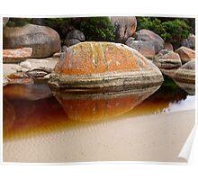 Tidal River Rocks - Wilsons Promontory National Park Poster