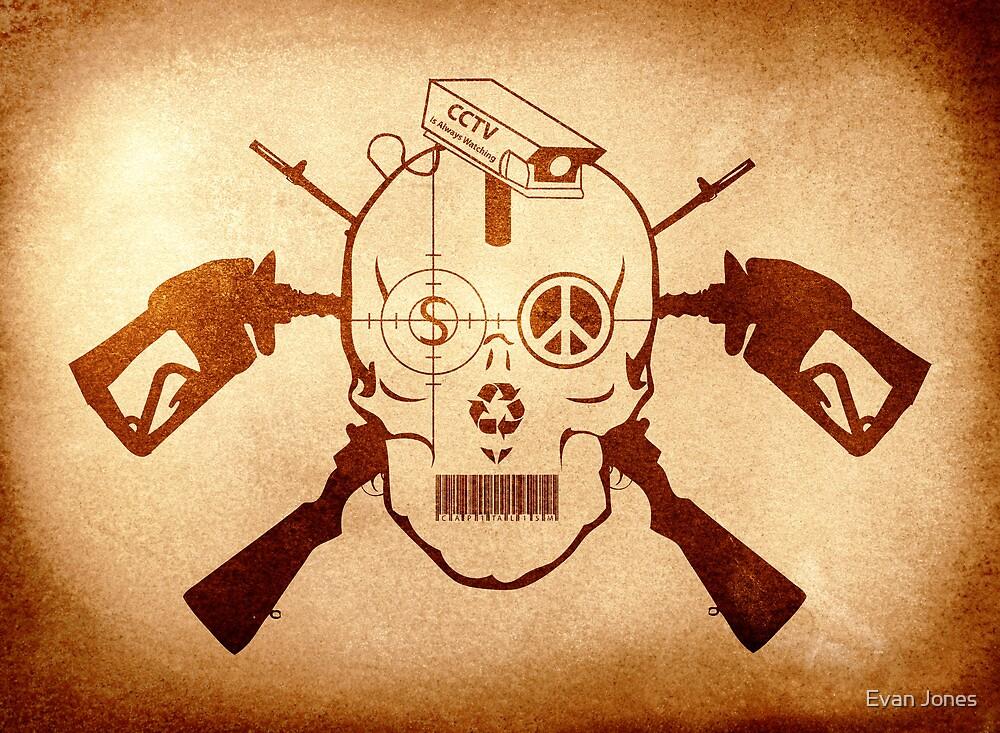 Doom Skull, Beware! by Evan Jones