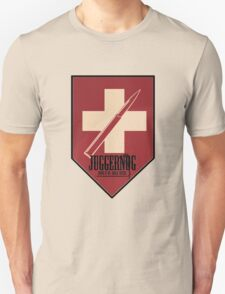 Juggernog logo; Bring it on, Ankle-biters! Unisex T-Shirt