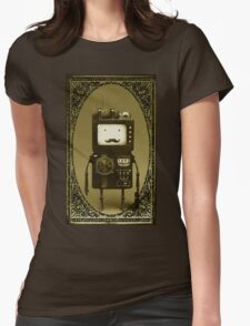 Steampunk B-MO Adventure time.  Womens Fitted T-Shirt
