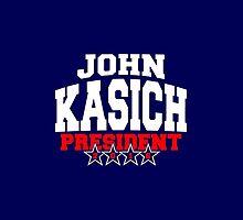 John Kasich For President 2016 by Garaga