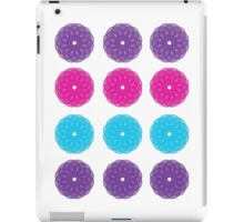 Flower Spiral Pattern iPad Case/Skin