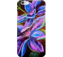 Flowers...Clematis iPhone Case/Skin