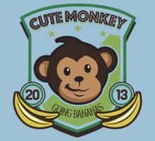Cute Monkey Baby Tee