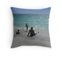 A family Throw Pillow