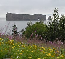 Percé Rock by Jane Bennett