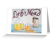Lorgh's Mead Greeting Card