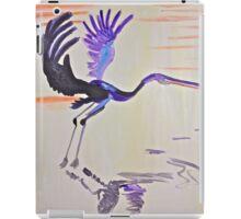 Blue Herron iPad Case/Skin