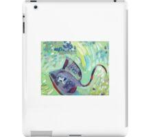 Stingray Beneath Me iPad Case/Skin