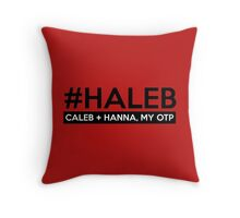 #HALEB Throw Pillow