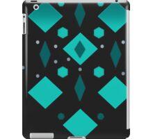 Grey Black  iPad Case/Skin