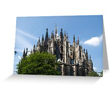 Cathedral in Cologne Germany - Full View Greeting Card