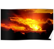 Sunset at Champion Lakes Poster