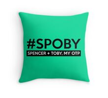 #SPOBY Throw Pillow