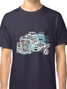Hot Rod (inverted colours) (alpha bkground for dark tshirts) Classic T-Shirt