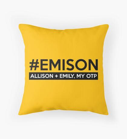 #EMISON Throw Pillow